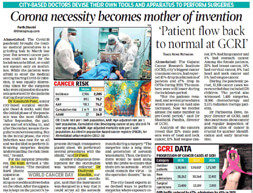Corona necessity becomes mother of invention | Times of india Ahmedabad- 04-02-2021