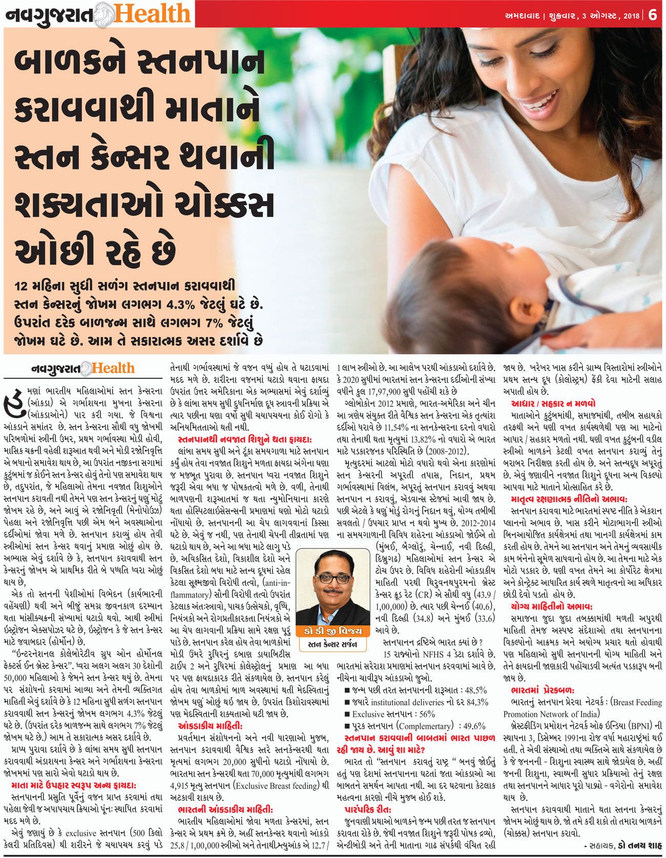 Dr. D. G. Vijay Article