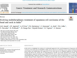 Evolving multidisciplinary treatment of squamous cell carcinoma